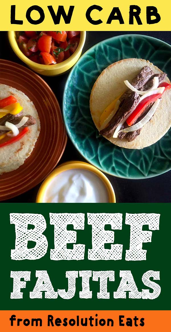 Low Carb Beef Fajitas Recipe