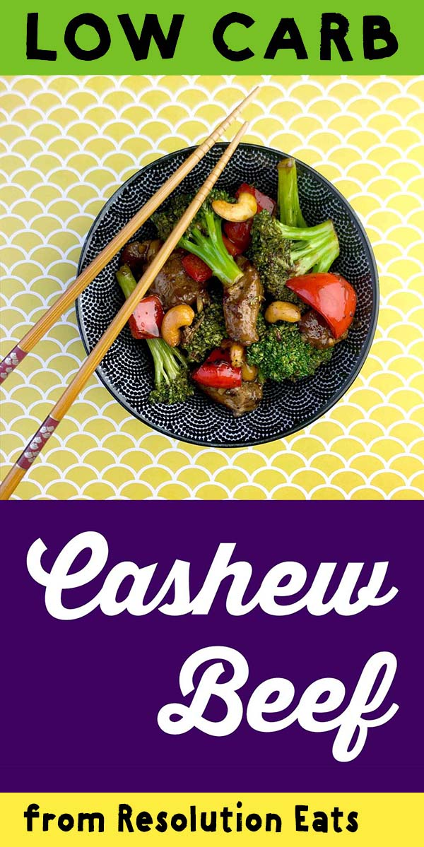 Low Carb Keto Paleo Whole30 Cashew Beef Recipe