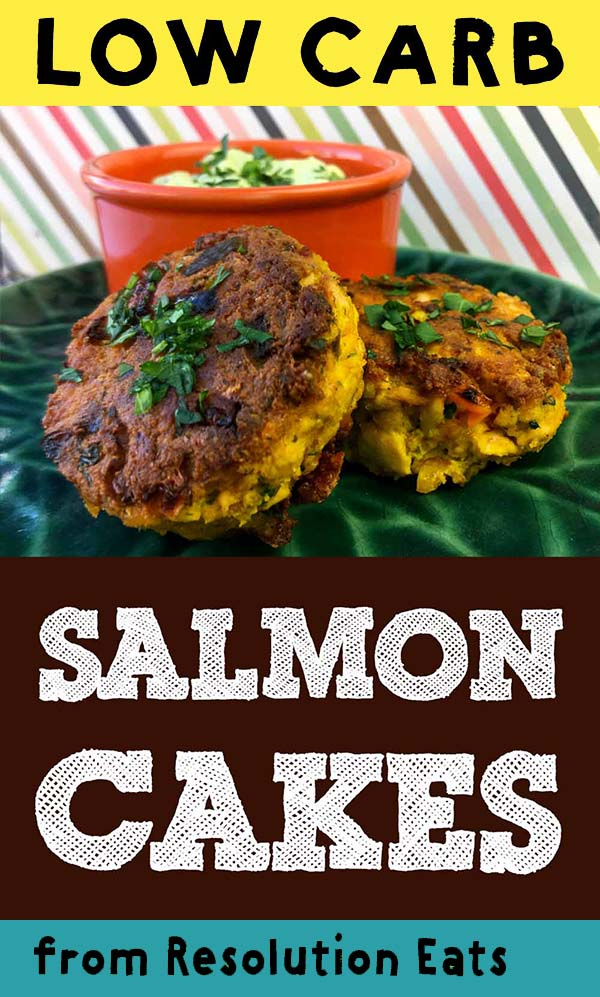 Low Carb Keto Paleo Salmon Cakes Recipe