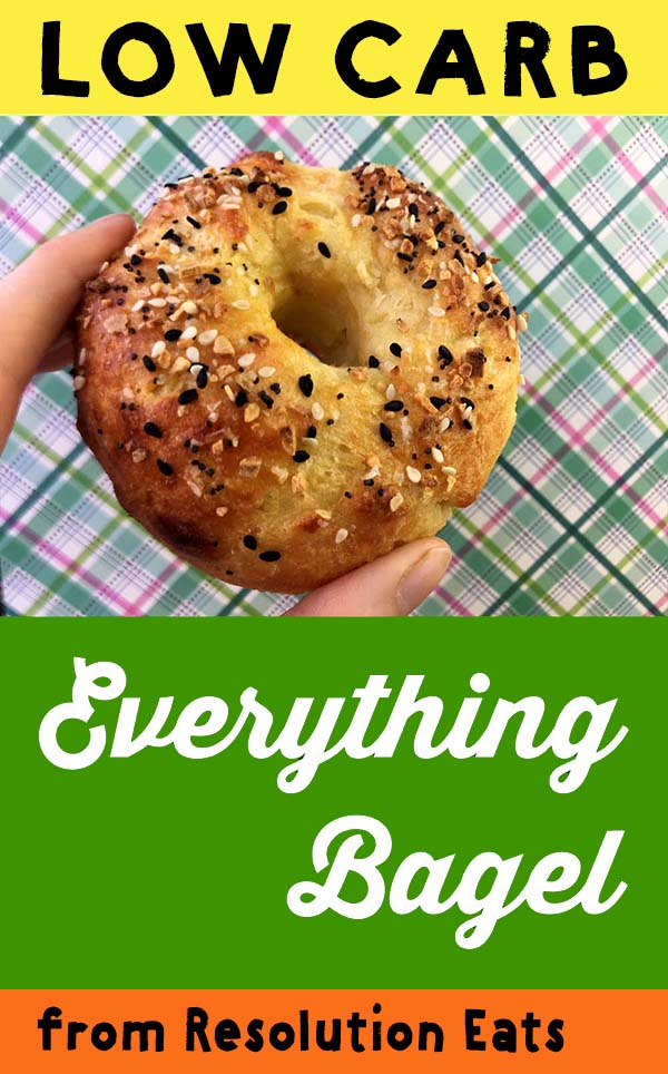 Low carb Keto Everything Bagel Recipe