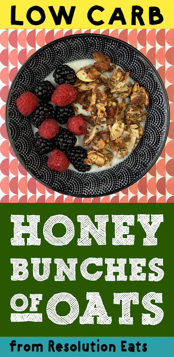 Low Carb Keto Honey Bunches of Oats Recipe