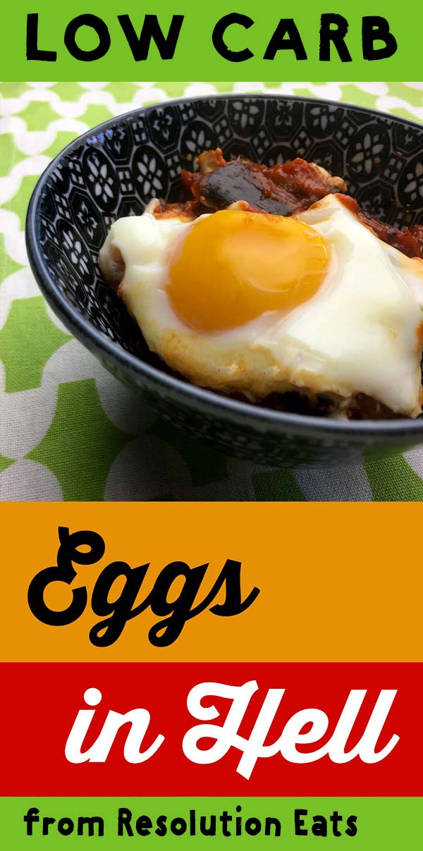 Low Carb Keto Paleo Eggs In Hells Recipe
