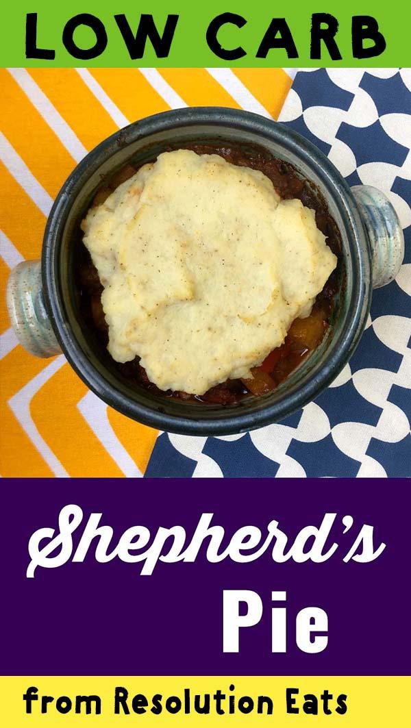 Low Carb Keto Whole30 Paleo Shepherds Pie Recipe