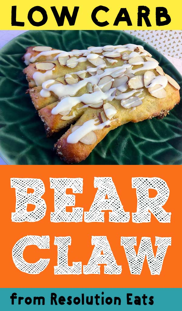 Low Carb Keto Bear Claw Recipe
