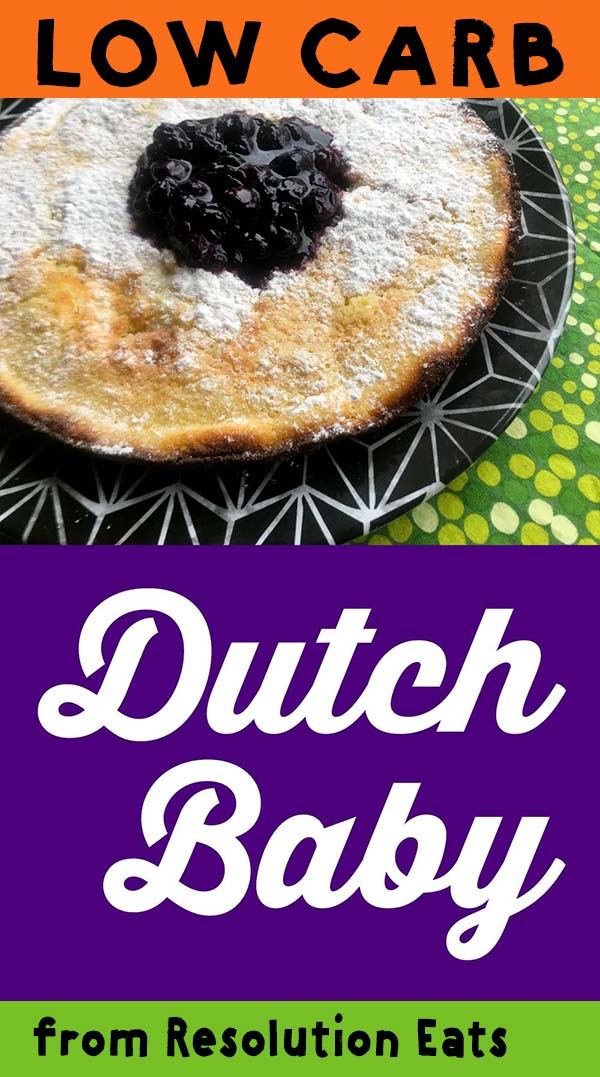 Low Carb Keto Dutch Baby Egg Pancake Recipe
