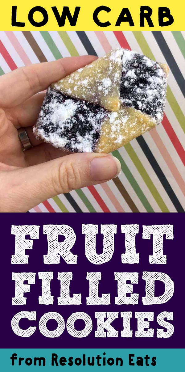 Low Carb Keto Fruit Filled Cookies Recipe