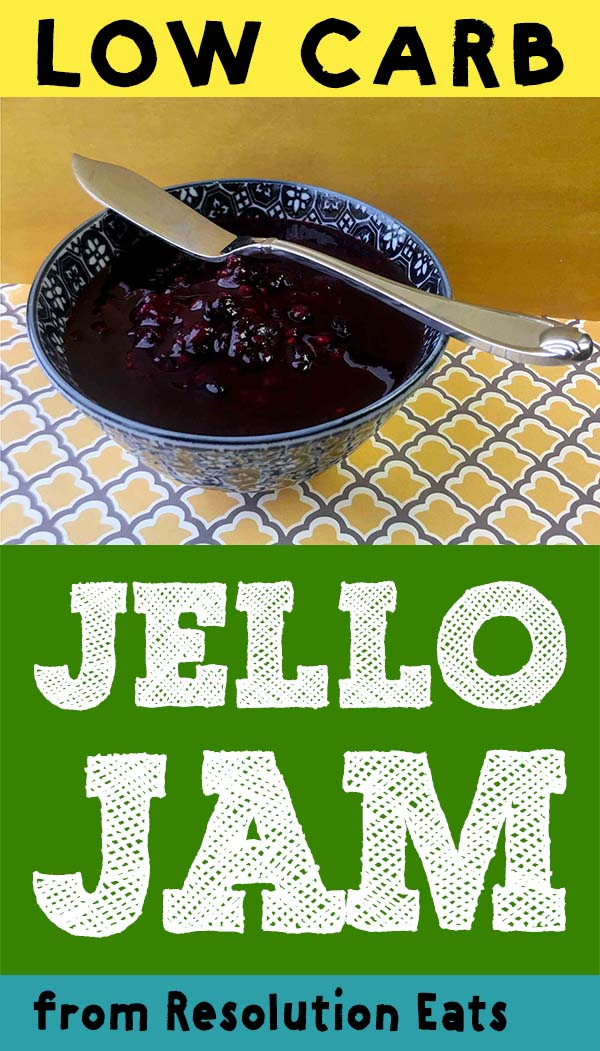 Low Carb Berry Jello Jam Recipe