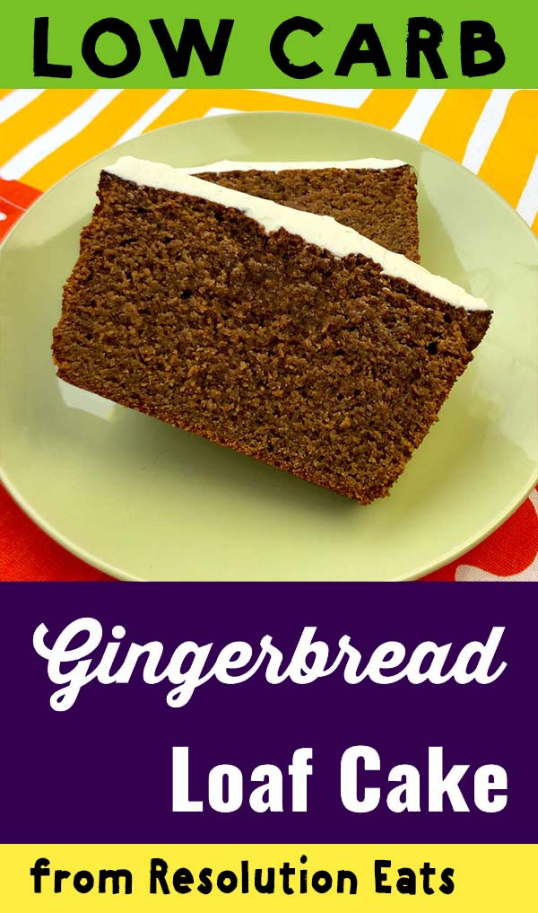 Low Carb Keto Gingerbread Loaf Cake Recipe