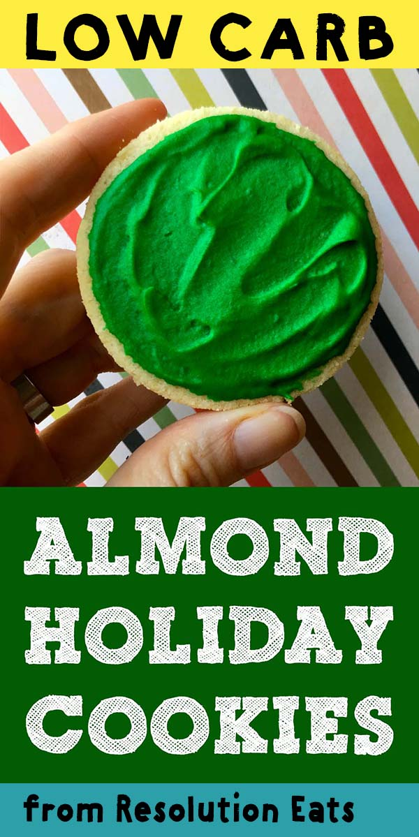 Low Carb Keto Almond Shortbread Holiday Cookie Recipe