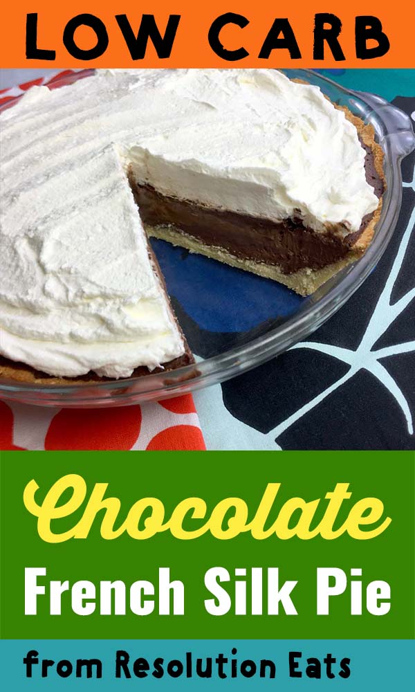 Low Carb Keto French Silk Chocolate Pie Recipe