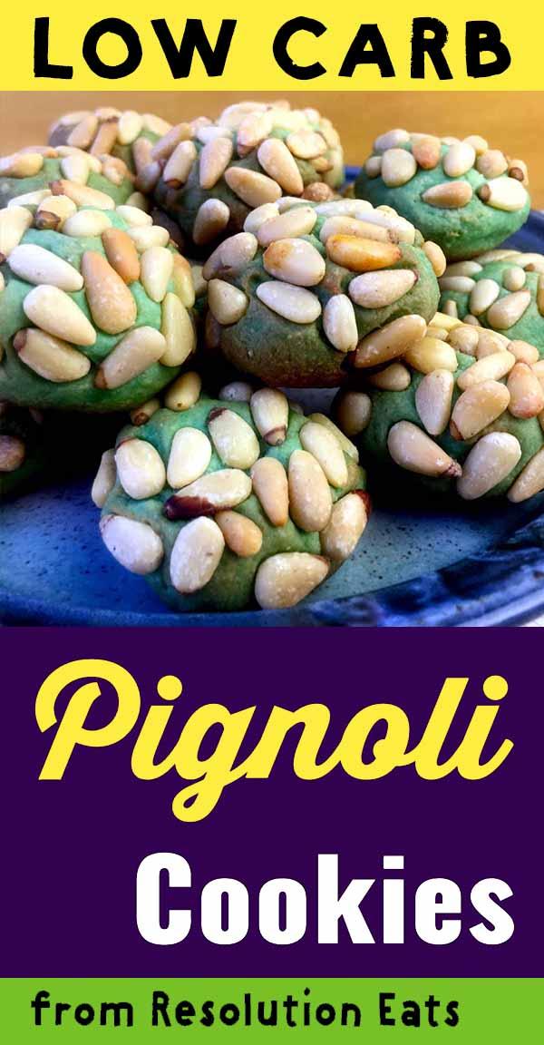 Low Carb Keto Pignoli Cookies Recipe