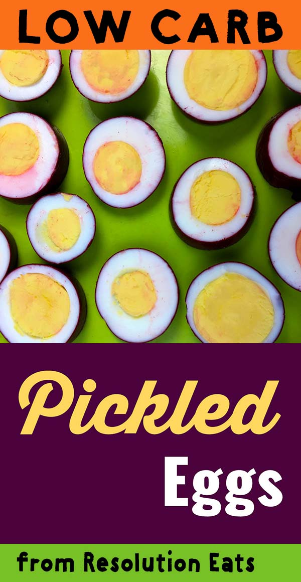 Low Carb Keto Pickled Eggs Recipe