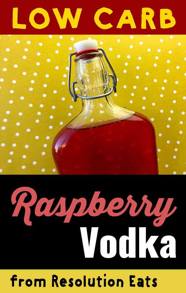 Low Carb Keto Raspberry Vodka Recipe