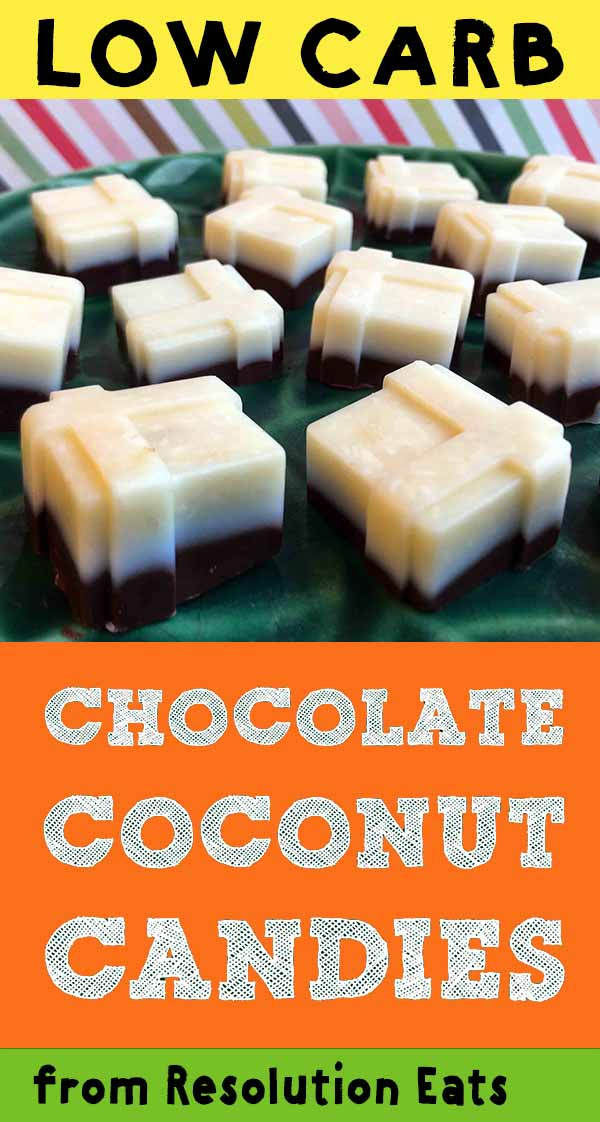 Low Carb Keto Chocolate Coconut Candy Recipe
