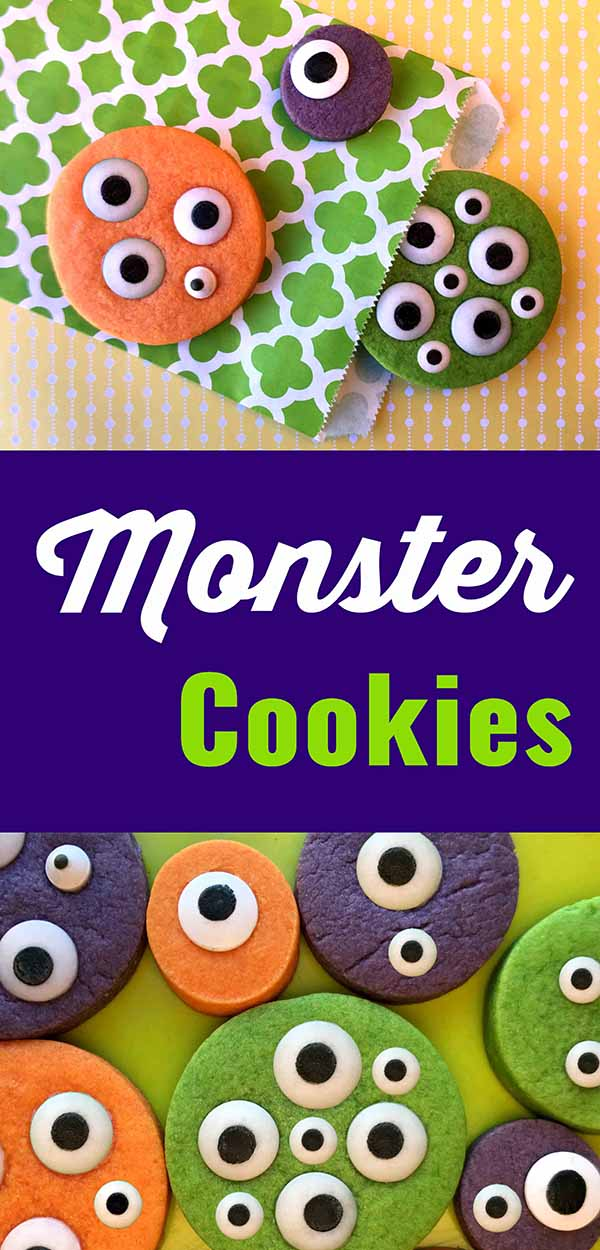 Kids Party Monster Cookie Recipe