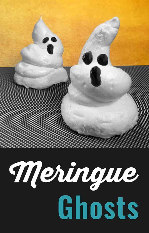Meringue Ghost Ghostly Cookies Recipe