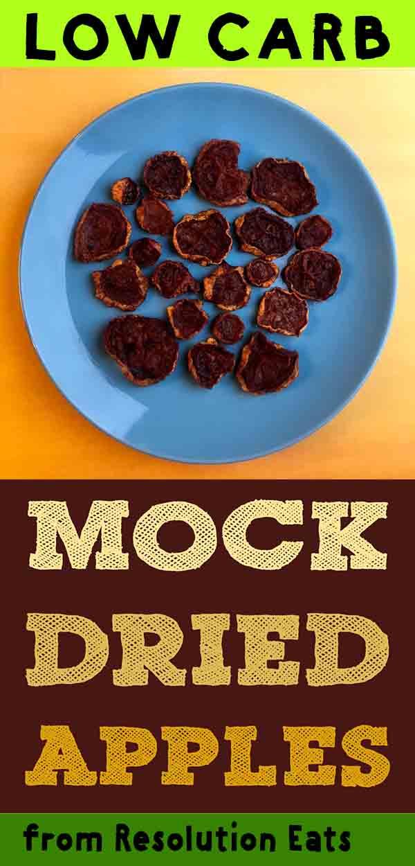 Low Carb Keto Mock Dried Squash Apples Recipe