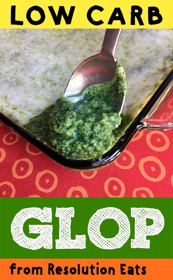 Spinach Glop Recipe