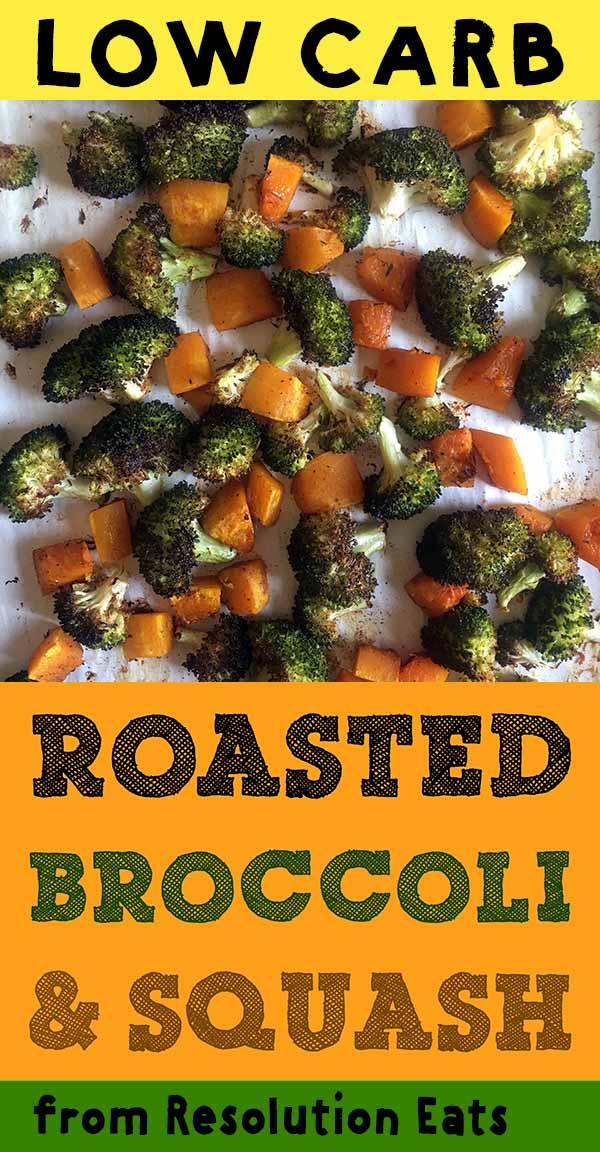 Low Carb Keto Paleo Whole30 Broccoli and Squash Recipe