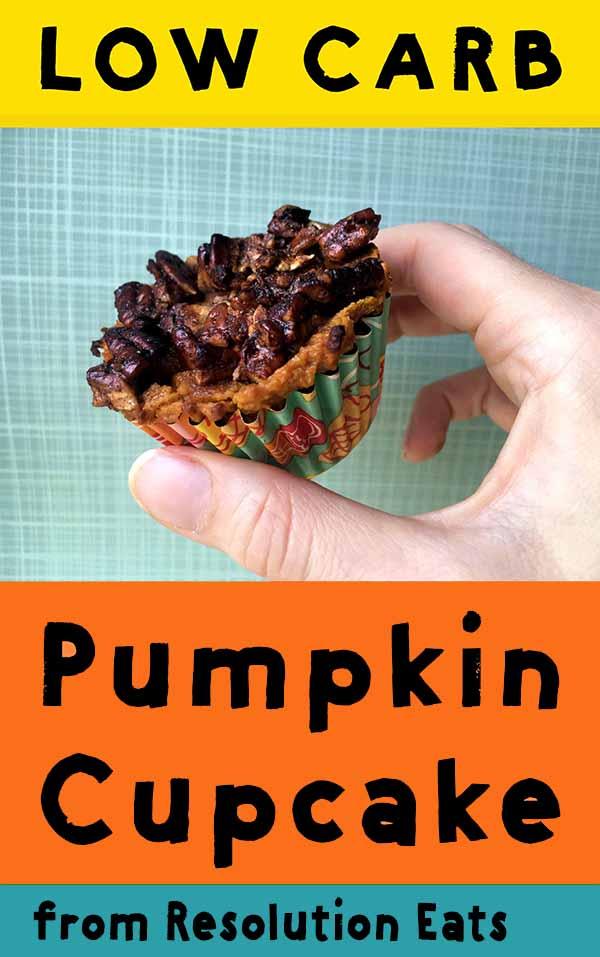Low Cab Keto Pumpkin Pie Muffin Recipe