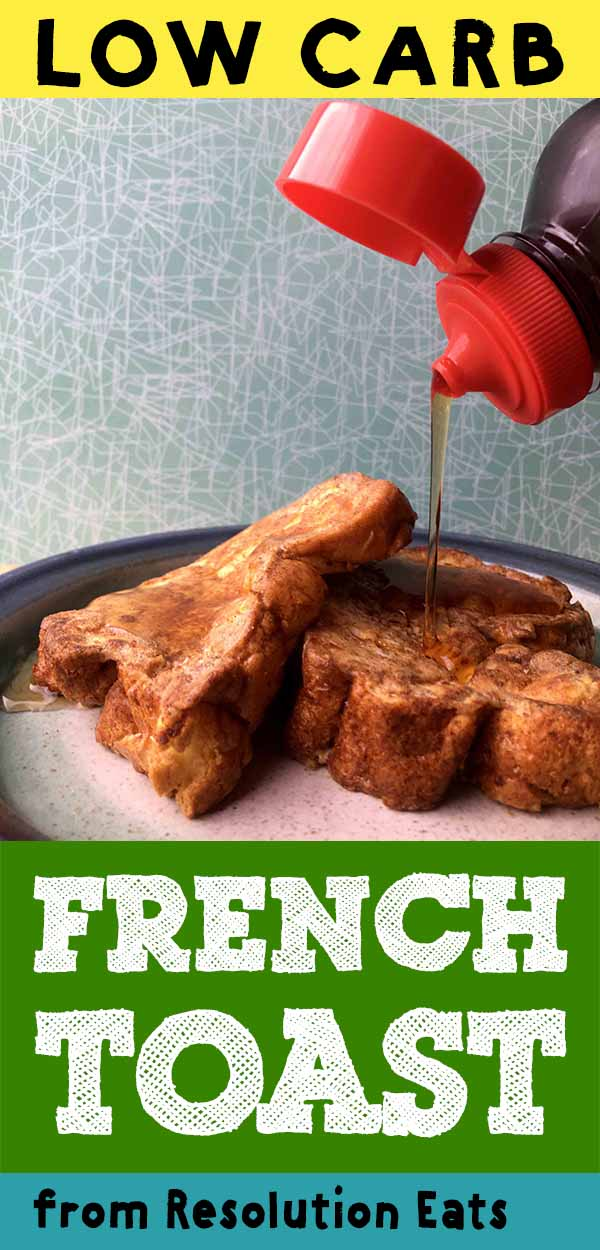 Low Carb Paleo Keto Cloud Bread French Toast Recipe