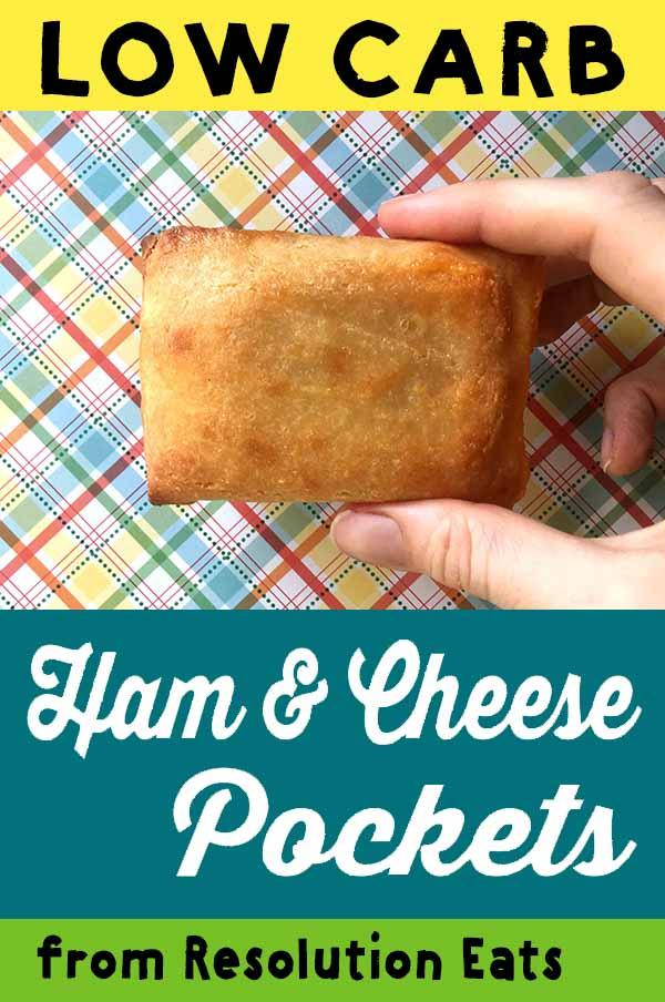 Low Carb Keto Hot Pocket Ham Cheese Recipe