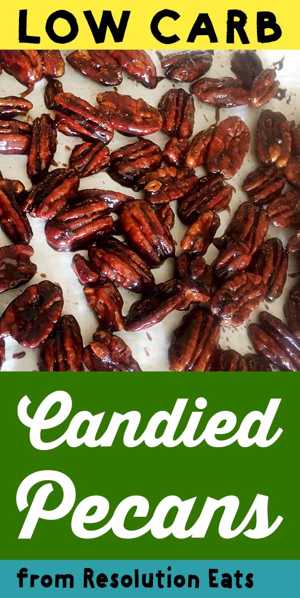 Low Carb Keto Candied Pecans Recipe