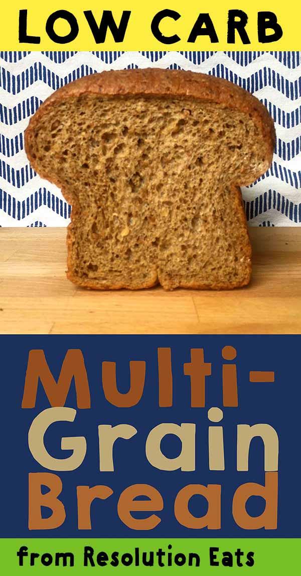 Low Carb Multigrain Bread Recipe