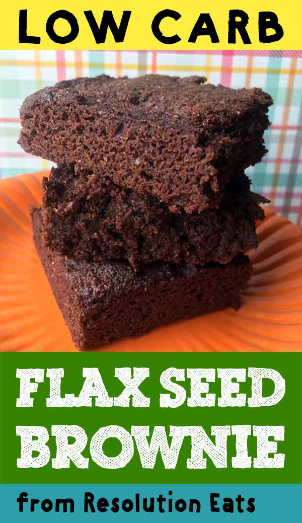 Low Carb Flax Seed Brownie Recipe