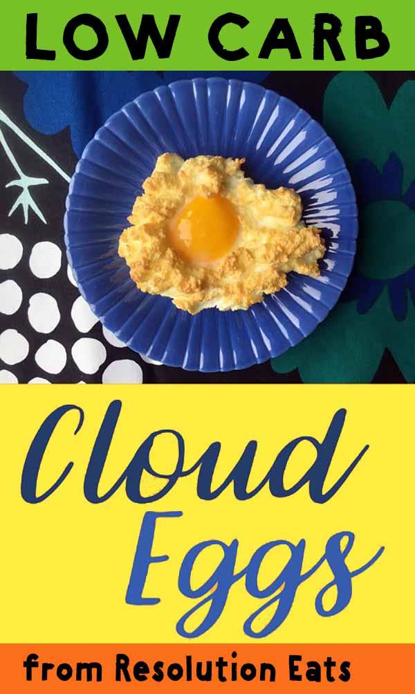 Low Carb Keto Paleo Whole30 Cloud Egg Recipe
