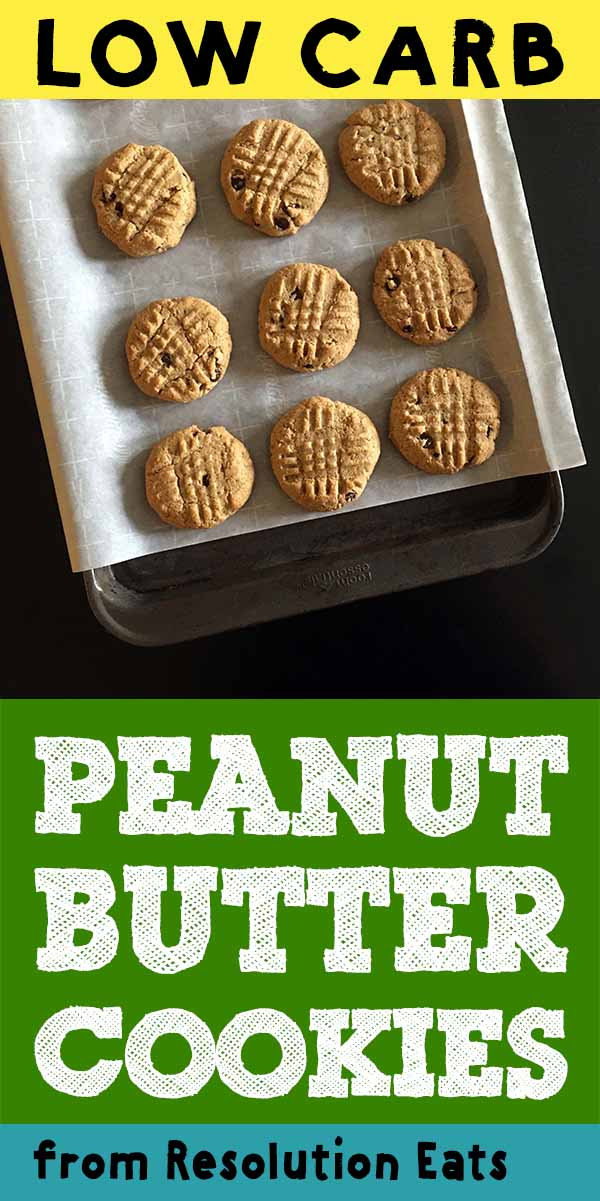 Low Carb Keto Peanut Butter Cookies Recipe