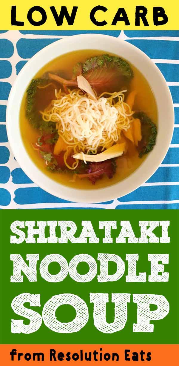 Low Carb Keto Paleo Chicken Noodle Soup Recipe