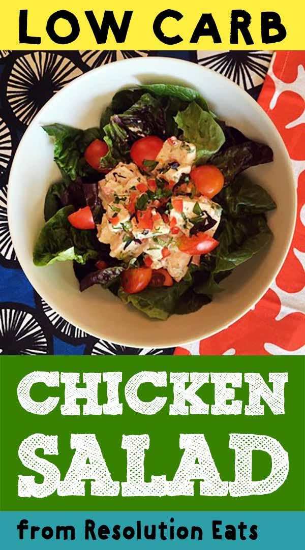 Low Carb Keto Paleo Whole30 Chicken Salad Recipe