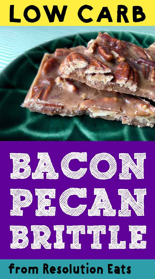 Low Carb Bacon Pecan Brittle Recipe