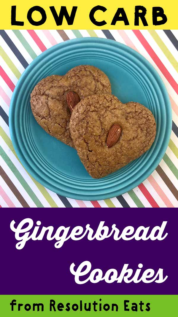 Low Carb Keto Gingerbread Cookie Recipe
