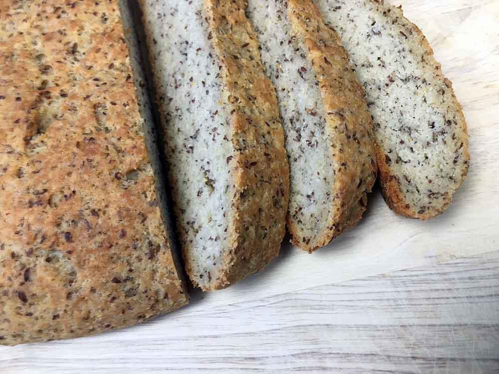Low Carb Keto Rustic Italian Yeast Bread Recipe