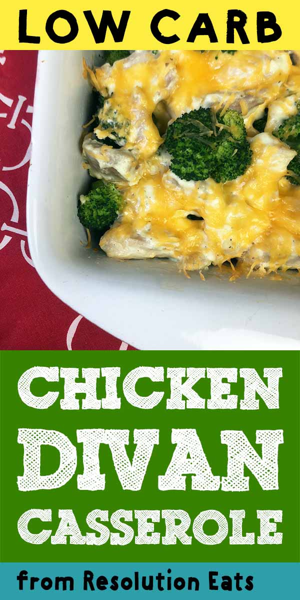 Low Carb Keto Paleo Chicken Divan Casserole Recipe