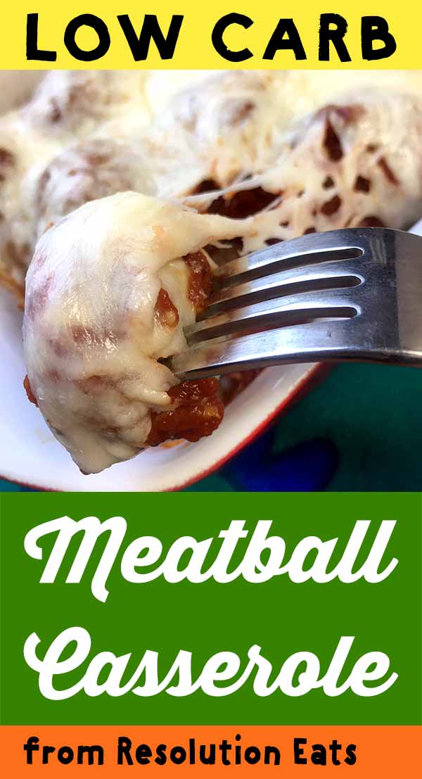 Low Carb Keto Paleo Meatball Casserole Recipe