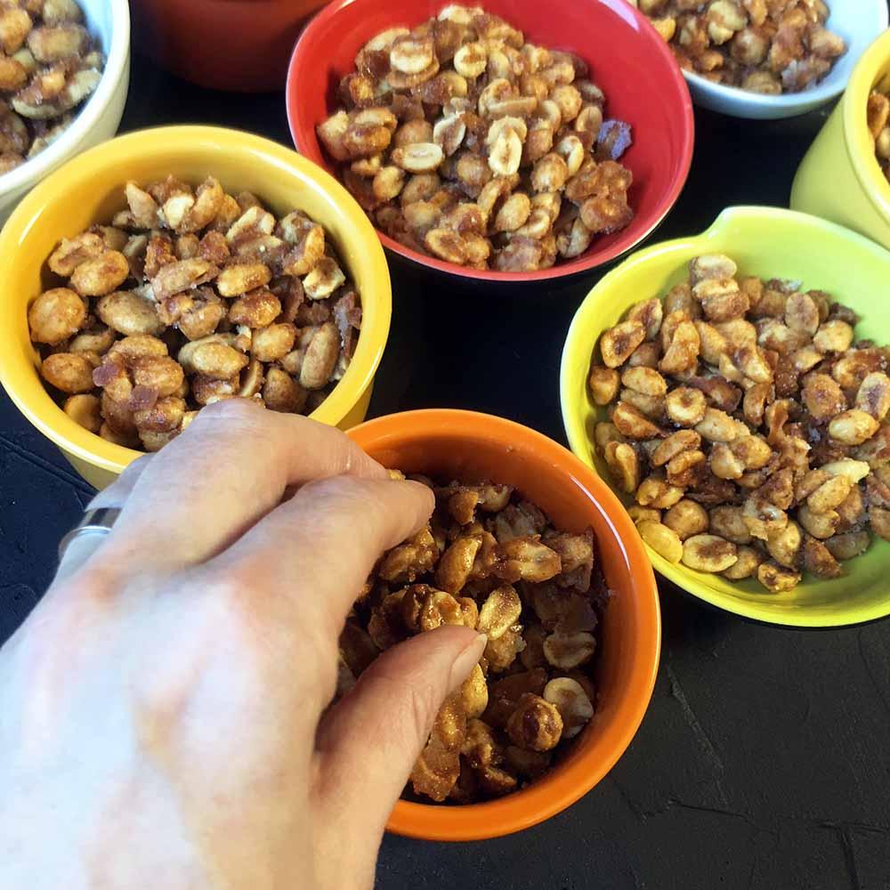 Low Carb Honey Roasted Peanuts Recipe