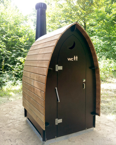 KL1 waterless and composting toilet