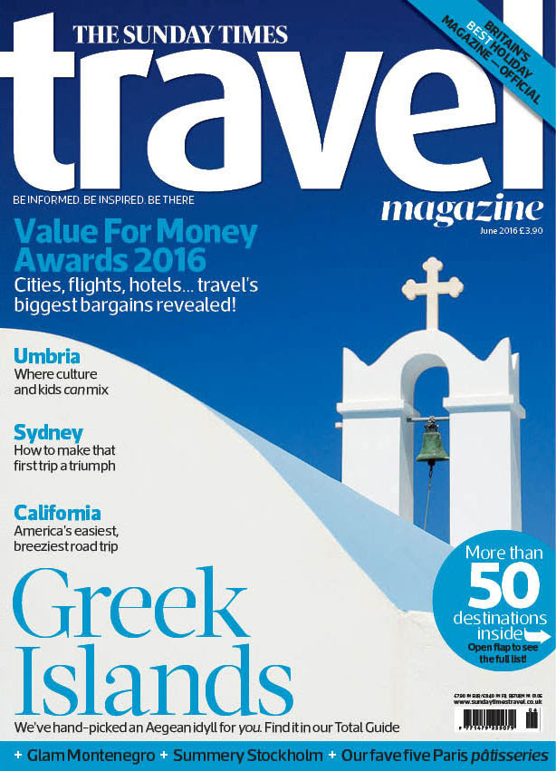 WE are mentioned in the june issue of the sunday times travel magazine here in the UK!