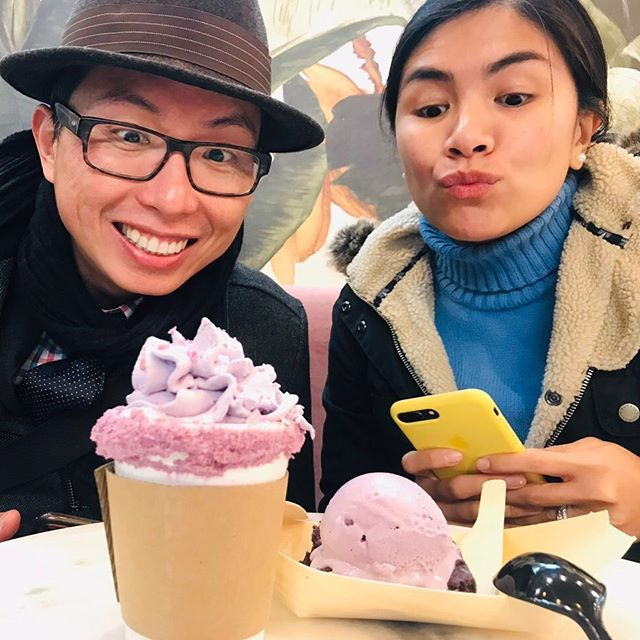 Nothing beats a perfect concoction of hot chocolate during winter ❄️ And at @mamasonsdirtyicecream in London's Chinatown it comes with an ube whip! . . . . . . #nowthatsahoneymoon #travelphoto #relationshipgoals #dametraveler #traveltogether #travelmore #visualsoflife #bestvacations #placesaroundearth #forbesttravelguide #travelguide #doyoutravel #travelguide #instatravel #fantastic_earth #travel #couplestravel #wanderlust #bucketlist #travelgoals #coupleswhotravel #travelandlife #mamasons #icecream #london #ube #londonfoodie #foodie #hotchocolate #chocolate
