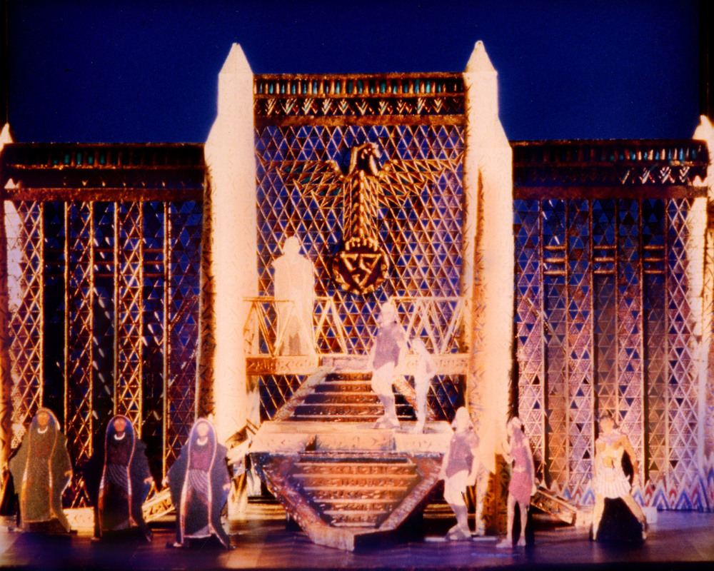 The Steps of the Palace, Original Broadway Model