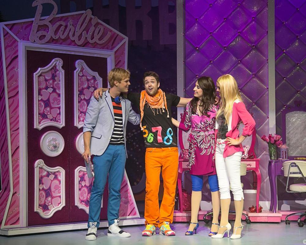 Barbie's Dressing Room