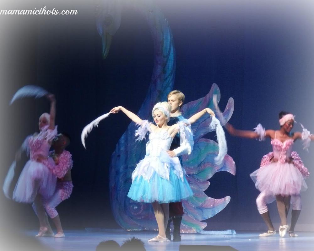 Barbie Swan Lake Ballet. Flashback dance number.