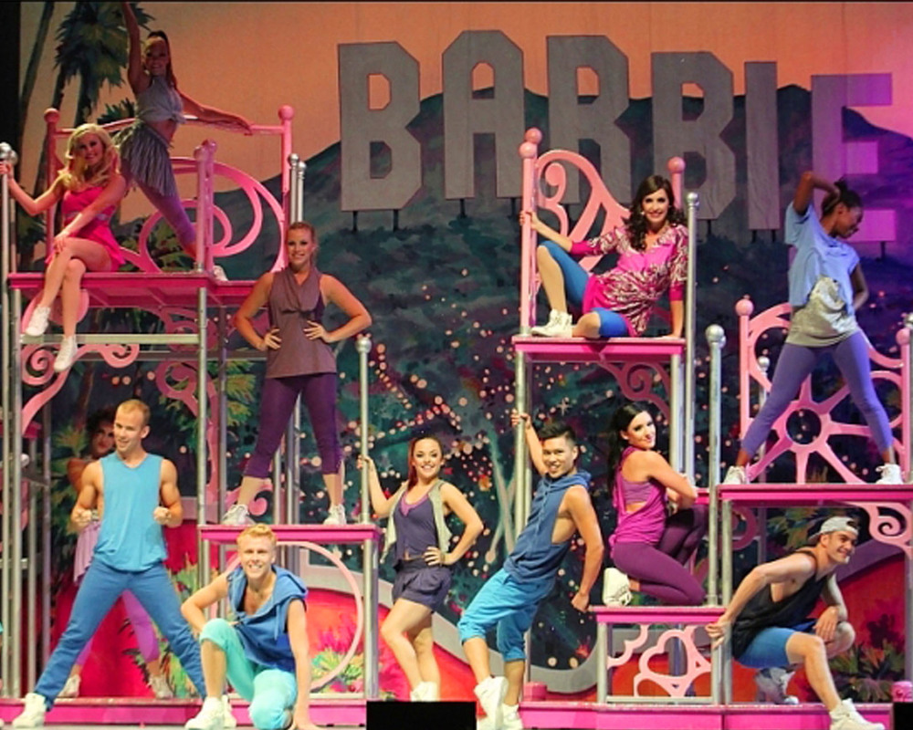 """""""Be A Friend"""" Rotating Barbie Themed Scaffolding Units"""