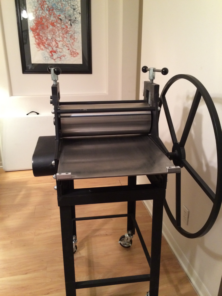 Praga   Etching Press 18 x 32