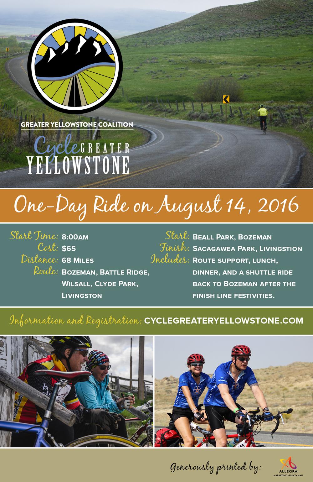 August 14:  68 miles; Bozeman, Battle ridege, Wilsall, Clyde park and Livingston.