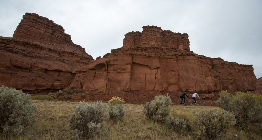 Day 4 brings riders past Crowheart Butte on the way to Dubois Cycle Greater Yellowstone