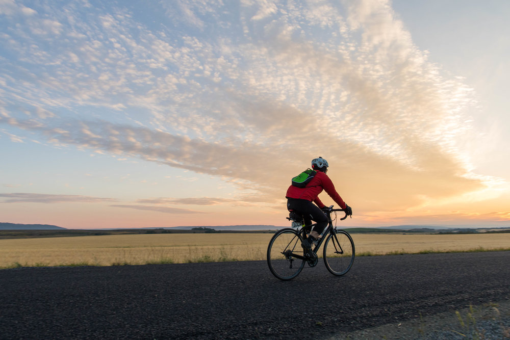 Organized events are a great option if you just want to worry about getting from point A to point B.Cycle Greater Yellowstone
